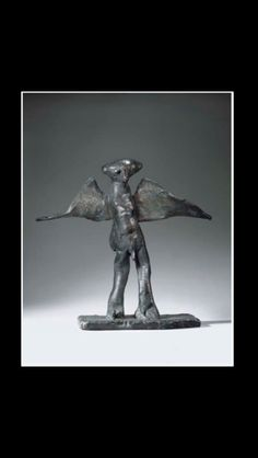 """Germaine Richier - """" L'homme de la nuit, grand """", conceived in 1954, cast after 1959 - Bronze with dark brown patina - 73 x 83 x 31 cm"""