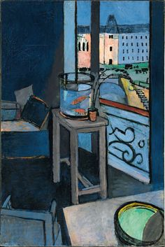 'Interior with Goldfish' (1914) by Henri Matisse