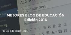 Descubre los Mejores Blogs de Educación para 2016 | TIC & Educación | Scoop.it
