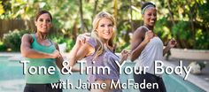Grokker 30-Day Tone and Trim Program. Lose fat and get toned with Jaime McFaden.