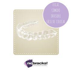 nobracks, ortodoncia invisible, cómodo, lavable, invisible, fácil de colocar, eficaz