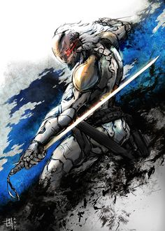 Gray Fox joins the stylizedMetal Gear Solid ranks... | Rampaged Reality