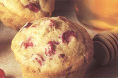 Cranberry Honey Wheat Muffins