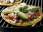 Greek Pizza on the Grill
