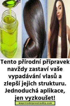 Tento přírodní přípravek navždy zastaví vaše vypadávání vlasů a zlepší jejich strukturu. Jednoduchá aplikace, jen vyzkoušet! Jena, Water Bottle, Drinks, Places, Fitness, Beverages, Water Bottles, Drink, Excercise