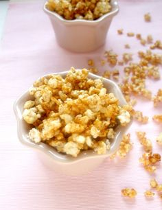 "Rice ""pop corns"" - vegan, sugar free, gluten free"