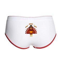 NDS Wear Cute Pilgrim Couple Happy Thanksgiving Mens Briefs Underwear