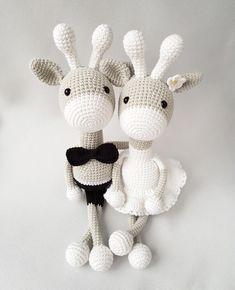 Cute couple of giraffes Hand-Knitted giraffe Amigurumi Handmade crochet giraffe wedding gift crochet wedding gifts Cute couple of giraffes Hand-Knitted giraffe Amigurumi Handmade crochet giraffe wedding gift crochet toys Crochet Monkey, Giraffe Crochet, Crochet Bunny, Cute Crochet, Crochet Dolls, Cute Anniversary Gifts, Handmade Gifts For Friends, Crochet Gifts, Crochet Wedding Gifts