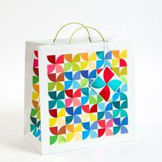 Pinwheels Large Gift Bag PD