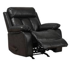 Alberton Faux-Leather Recliner