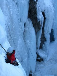 Top ice climbing locations in the US