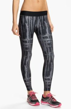 huge discount b75cc a68c8 Under Armour Print ColdGear Tights  46.89 by shmessa Athletic Outfits,  Athletic Wear, Sport Outfits