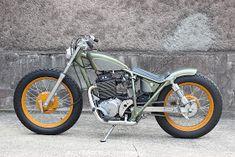 Honda By Gravel Crew Hell Kustom Motos Bobber, Bobber Bikes, Bobber Chopper, Scrambler, Vintage Motorcycles, Custom Motorcycles, Custom Bikes, Cars And Motorcycles, Custom Cars