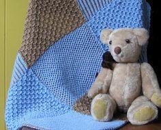 Brioche Nine Patch Blanket - Reversible