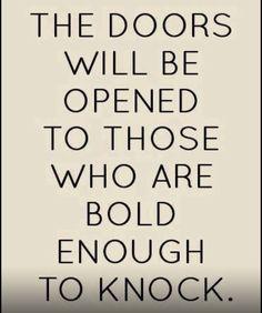 Be Strong + Push forward..