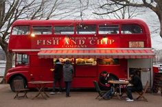 stranomaweird: Fish and Chips Shop, Southbank, London.