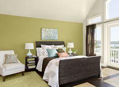 decoracion dormitorios pintura paredes   Diseño de interiores
