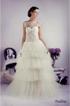 Vestido de novia  Nadine 2013