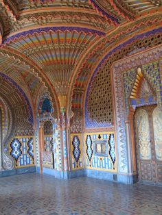 Non Plus Ultra – The Fairy Tale Castle – Abandoned Castle Sammezzano – in Italy – Abandoned Playgrounds
