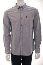 Lyle and Scott Mens Shirt Navy b_XXL Oxford Regular Fit - Various Size Options