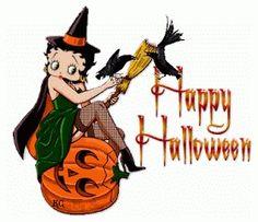 Betty Boop - Happy Halloween