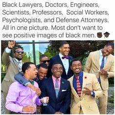 Most don't want to see positive images of black men