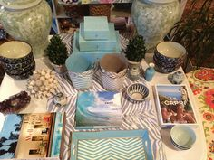 patterns, colors, good tabletop inspiration