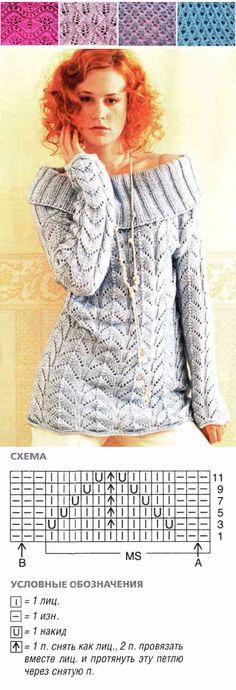 rayons bande tricot ajourées |  motif ajouré