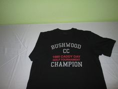 bf976d581 TRAVIS MATHEW Golf T Shirt Sz M Medium - Black - Caddyshack - Bushwood CC # TravisMathew #GraphicTee
