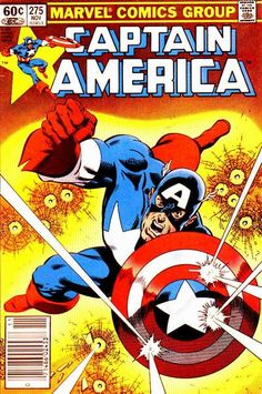 Captain America # 275 by Mike Zeck & John Beatty
