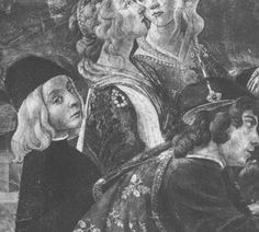 Caterina Sforza (top right) presumably with her mother Lucrezia Landriani and her half-brother Gian Galeazzo Maria II. (left), the young Duke of Milan Italian Renaissance Art, Half Brother, Royal Blood, Horse Girl, 15th Century, Religious Art, Deities, Girl Power, Medici