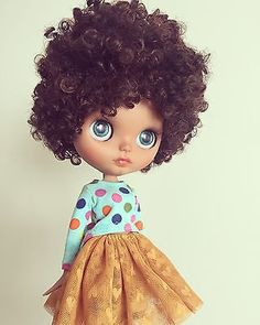"Ooak custom blythe doll "" Salma"" by ""So Called Blythe"""