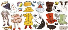 Madeline Paper Doll Vintage Printable L. by mindfulresource