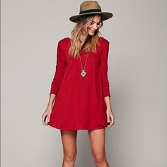 Low back tunic Only sold thru Free People Soft, oversized tunic, trapeze cut with long formfitting sleeves and scoop back! Free People Tops Tunics