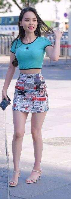 Mini Skirts, Fashion, Asian Fashion, Moda, Fashion Styles, Mini Skirt, Fashion Illustrations