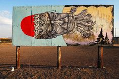 Troy Love Gates AKA OTHER. The Painted Desert Project 2014. Arizona. Navajo Nation. (photo © Jetsonorama)