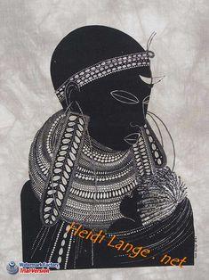 Maasai Mother African Batiks Designed And Printed In Kenya By Heidi Lange. Arte Tribal, Tribal Art, Black Women Art, Black Art, Illustrations, Illustration Art, Hair Afro, African Art Paintings, African Artwork