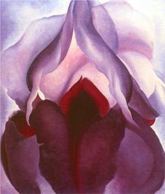 """Georgia O'Keeffe, Flower of Life II. """"Color is one of the great things in the world that makes life worth living to me and as I have come to think of painting it is my effort to create an equivalent with paint color for the world - life as I see it."""""""