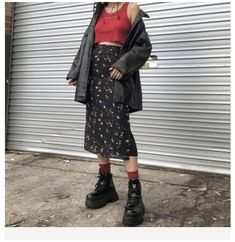 Grunge Outfits, Indie Outfits, Grunge Dress, Grunge Hair, Look Fashion, 90s Fashion, Fashion Outfits, Moda Converse, Street Style Vintage
