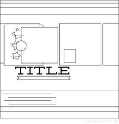 Blog: Sunday Sketch | Celine - Scrapbooking Kits, Paper & Supplies, Ideas & More at StudioCalico.com!
