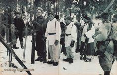 finnish troops from kuhmo's saunajärvi