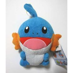 Pokemon 2004 Banpresto UFO Game Catcher Prize Mudkip DX Large Size Plush Toy