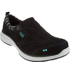Ryka Suede Slip-on Shoes with CSS Technology - Terrain #ClogsShoesSlipOn