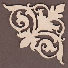 Beautiful Laser cut Embellishments for your Craft & Decorative Painting Projects. Many Designs by Tracy Moreau. Stencil Patterns, Stencil Designs, Laser Cut Wood, Laser Cutting, Thermocol Craft, Wood Crafts, Diy And Crafts, Motif Arabesque, 3d Laser Printer