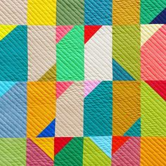 getting the mini #flippycorners quilts quilted