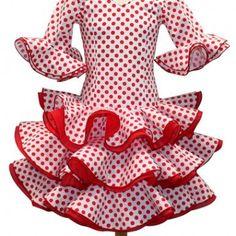a9aa1f7464 13 mejores imágenes de Patrones ropa de flamenca para niñas ...