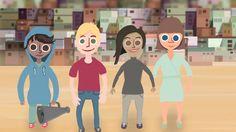 Mille arvoille ja periaatteille ihmisoikeudet perustuvat? Lyhyt video sopii esitettäväksi esimerkiksi kouluissa aihetta käsiteltäessä. Human Rights, Religion, Family Guy, Animation, Science, Teaching, Education, Guys, School