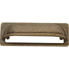 Hickory Hardware Oxford Antique 3 in. Windover Antique Cup Pull-PA1023-WOA at The Home Depot