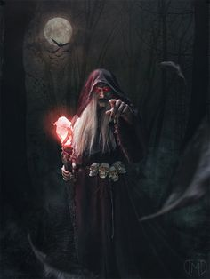 Tezad The Darkmaster by Majentta wizard warlock witch sorcerer sorceress old elderly ancient staff necromancer armor clothes clothing fashion player character npc | Create your own roleplaying game material w/ RPG Bard: www.rpgbard.com | Writing inspiration for Dungeons and Dragons DND D&D Pathfinder PFRPG Warhammer 40k Star Wars Shadowrun Call of Cthulhu Lord of the Rings LoTR + d20 fantasy science fiction scifi horror design | Not Trusty Sword art: click artwork for source