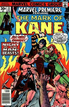Cover for Marvel Premiere (Marvel, 1972 series) #33 [British price variant.]